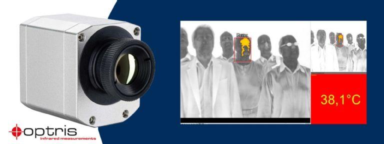 Dispositivi per il monitoraggio della temperatura corporea senza-contatto